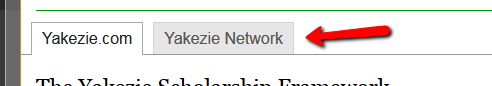 Yakezie Network Posts Tab