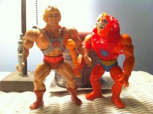 He-man and Beast Man