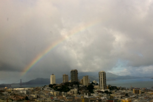 Rainbow Over San Francisco
