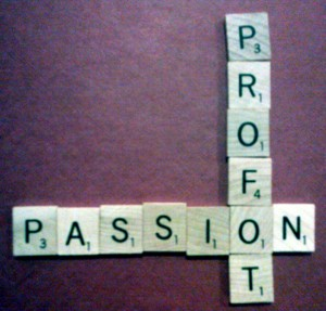 The debate over passion vs profit for picking blogging topics